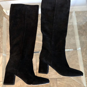 Mellie Suede Knee High Boots